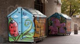 Quando la raccolta rifiuti è creativa