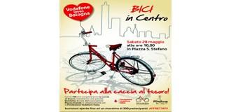 """""""BICI in centro"""", la speciale caccia al tesoro di Vodafone"""