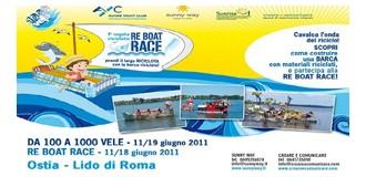 """Re Boat Race, la prima regata """"riciclata"""""""
