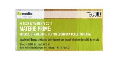 ReMedia & Il Sole 24 ORE unite per un'economia dell'efficienza