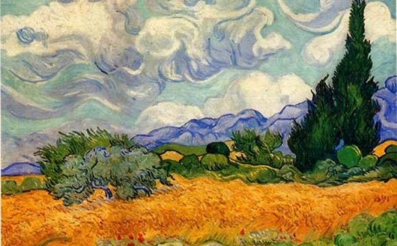 Green art: GE e la National Gallery realizzano un'opera di Van Gogh con piante vere