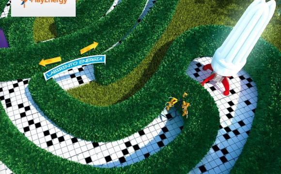 Jovanotti e Fulvio Conti alla premiazione di PlayEnergy 2011 di Enel