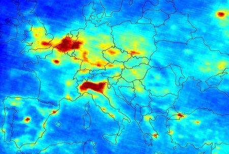 Inquinamento in Europa: ecco le mappe dell'Agenzia dell'ambiente