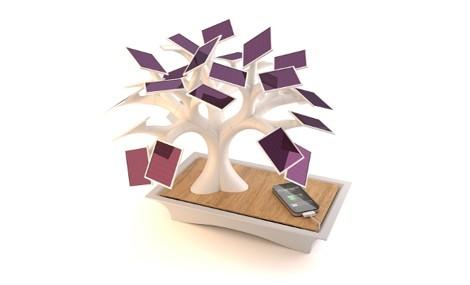 """Un bonsai """"speciale"""" ricarica il tuo iPod"""