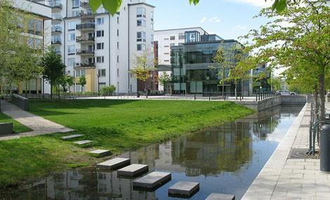 Hammerby Sjöstad, dove l'acqua è davvero una risorsa