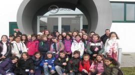 A lezione di fotovoltaico, scuole elementari e medie in visita a Mx Group