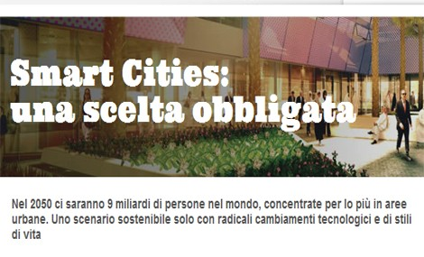 Gruppo Hera. Smart City: l'intelligenza arriva in città