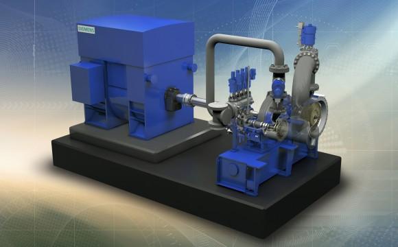 Siemens: le innovazioni del portfolio di turbine a vapore industriali
