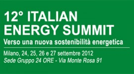 12° Italian Energy Summit: Alto Adige green region d'Italia.