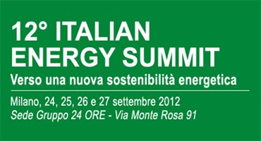 12° Italian Energy Summit: Alto Adige green region d'Italia.