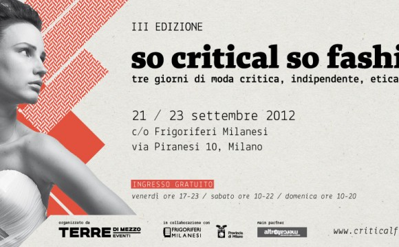 Anche Behind The Label al So Critical so Fashion!