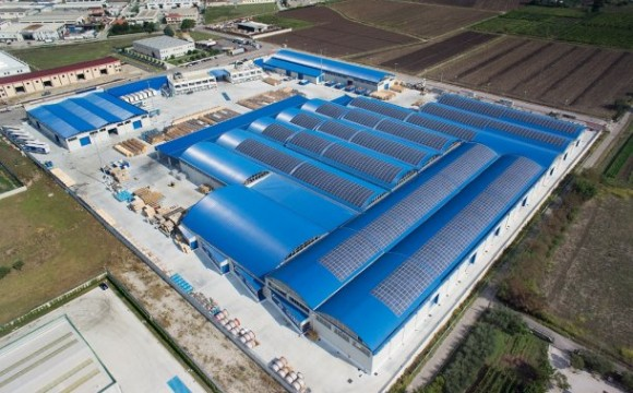 Siemens Italia inaugura i nove tetti fotovoltaici di Eboli