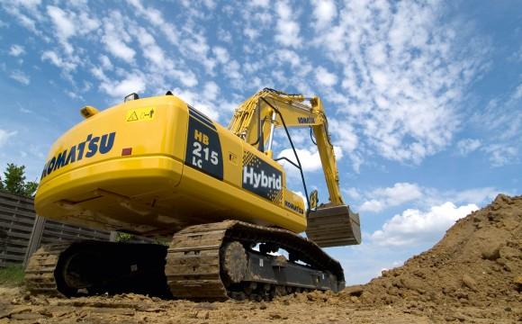 Il motore ibrido arriva anche per le macchine movimento terra