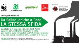 Greenpeace, Legambiente, LIPU e WWF chiedono lo stop al carbone