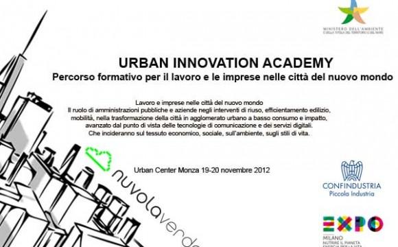 Nuvolaverde presenta Urban Innovation Academy