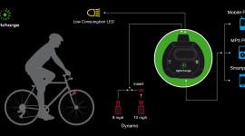 Lo smartphone si ricarica dalla bicicletta!