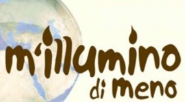 Io &#8220;M&#8217;illumino di meno&#8221;, voi?