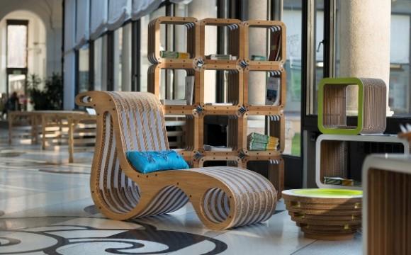 Sogni di cartone: a Varese in mostra l'eco-design