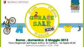 Garage Sale Kids: riusa, rigioca e ripensa!