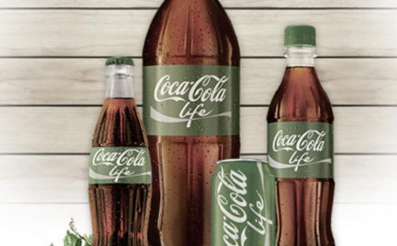 Coca Cola mostra la nuova bibita Life, bio e senza zucchero?