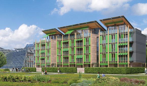Renzo Piano rende green il Comune di Trento