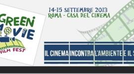 Roma si prepara al Green Movie Film Fest