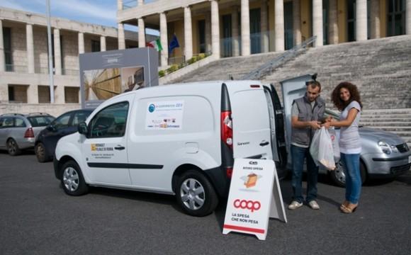 Spesa a zero emissioni con Renault e il Progetto e- commerce Zev