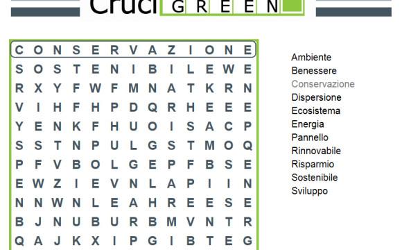 ReMedia lancia il Crucigreen per sensibilizzare giocando