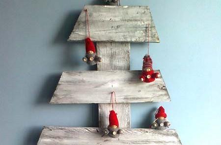 Feste creative ed ecosostenibili con l'albero di Natale in pallett