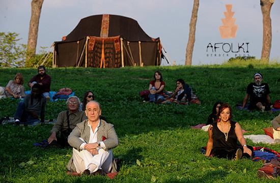 A Orticolario la tenda Tuareg del film La grande bellezza
