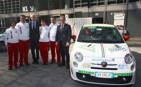 Maroni inaugura la partenza di Ecomotori