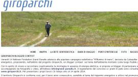 Giroparchi blogger contest: un premio per comunicatori digitali a impatto zero