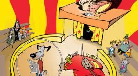 Il fumetto di un mondo alla rovescia per rispettare gli animali