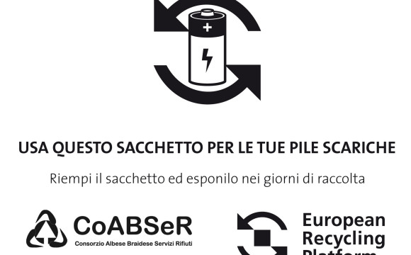 Avviato il progetto pilota di ERP Italia per la raccolta a domicilio di pile esauste