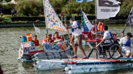 Re Boat Race, la regata con imbarcazioni costruite in materiali riciclati