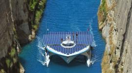 Oggi è arrivata a Venezia Planetsolar, la più grande imbarcazione a energia solare del mondo