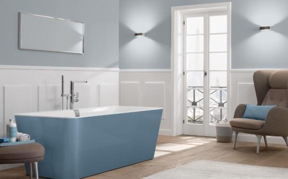 Villeroy & Boch alla Milano Design Week rivoluziona il concetto di colore nel bagno