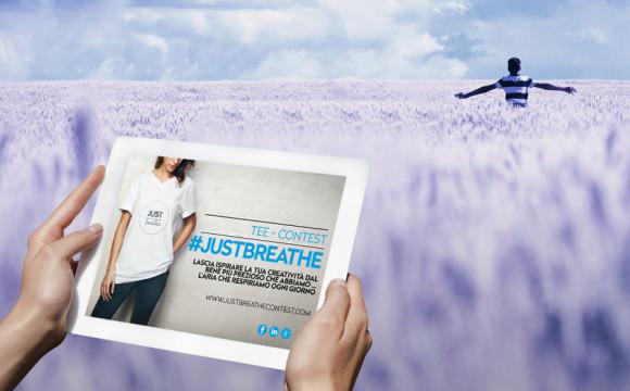 #JustBreathe, il contest creativo per riflettere sull'aria pulita