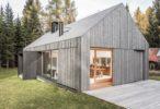 Abitazione ecosostenibile realizzata da Rubner Haus: unione tra natura e architettura