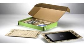 Packaging ecosostenibile per i computer DELL