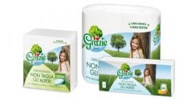 Lucart Group presenta Grazie Natural, la nuova generazione  di carta ecologica nata dal riciclo dei contenitori Tetra Pak