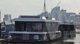 Olimpiadi 2012 green: una casa galleggiante ecosostenibile con i moduli solari di Panasonic
