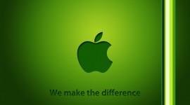 Apple si tinge di green!