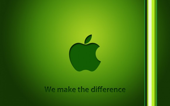 Apple: la mela dal cuore green