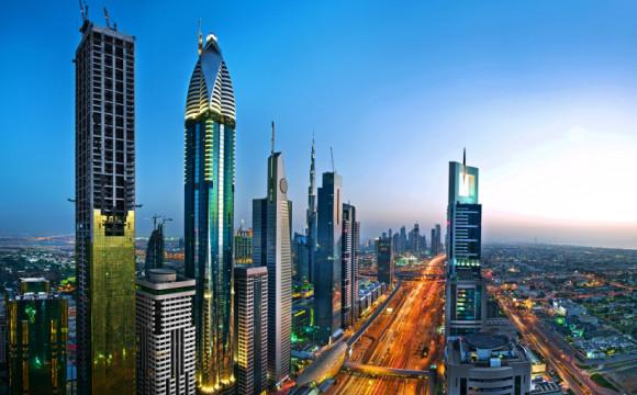 Le luci di Dubai scelgono la sostenibilità