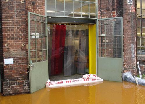 Barriera anti alluvioni: la nuova creazione di Airbank