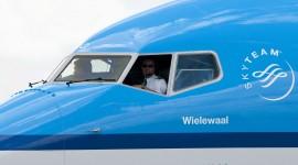 KLM vola con olio da cucina usato (e fa respirare l'ambiente)