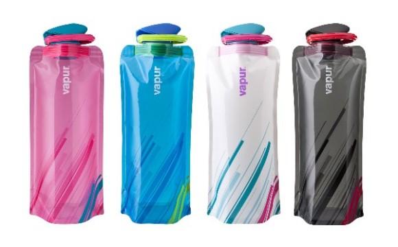 La borraccia tascabile sfida le bottigliette usa e getta