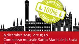 """""""Siena Carbon free"""", convegno sui risultati del percorso di sostenibilità ambientale"""