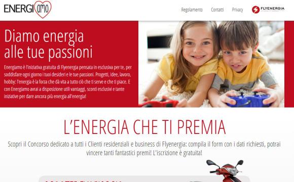 Flyenergia propone la nuova campagna di fidelizzazione Energiamo